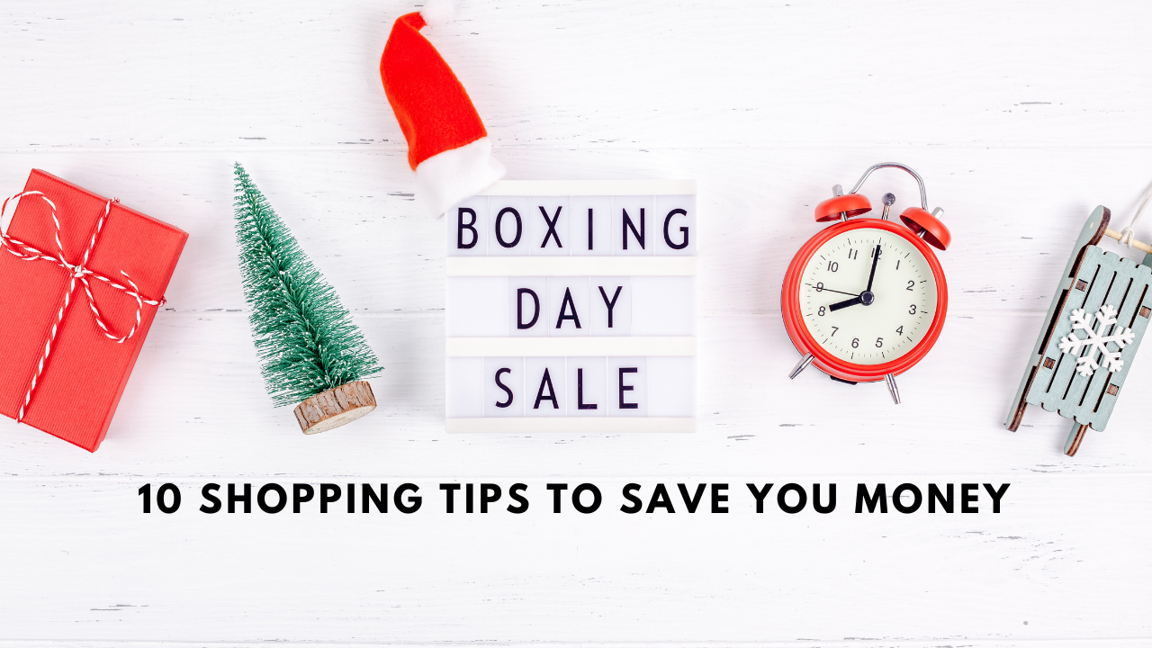 Boxing Day sale 10 shopping tip to save money
