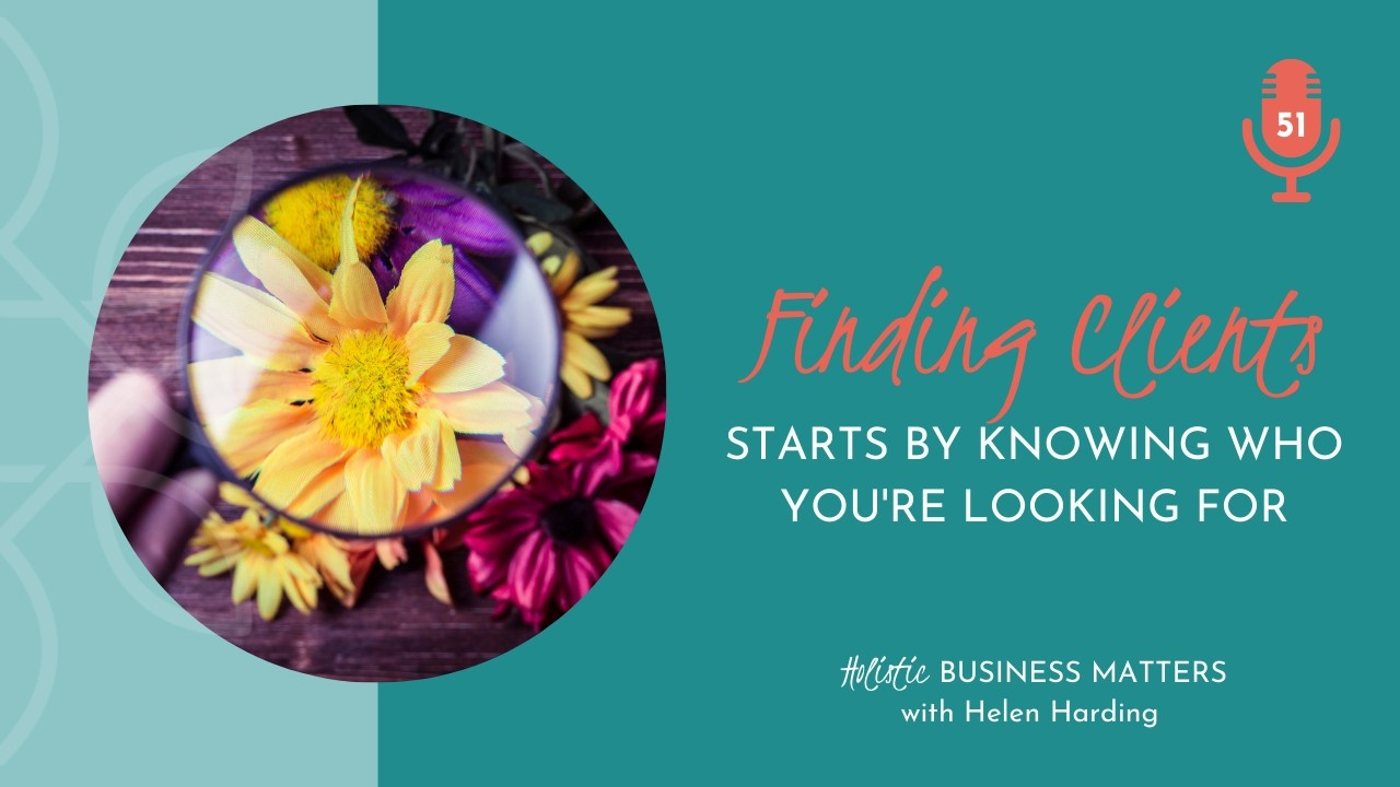 Finding Clients Starts with Knowing Who You're Looking For