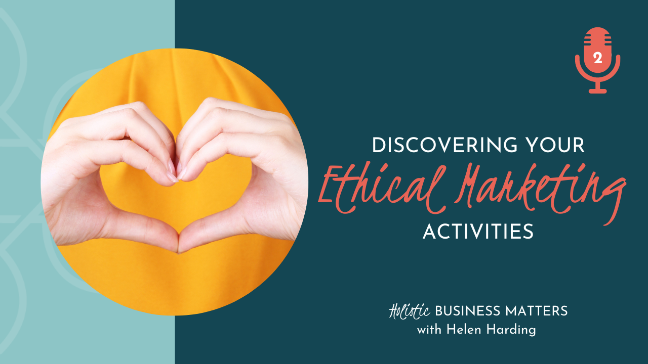 Discovering Your Ethical Marketing Activities
