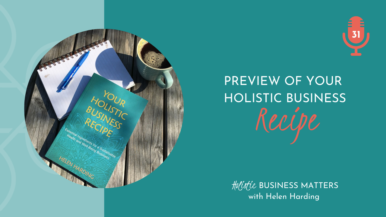 Preview of Your Holistic Business Recipe
