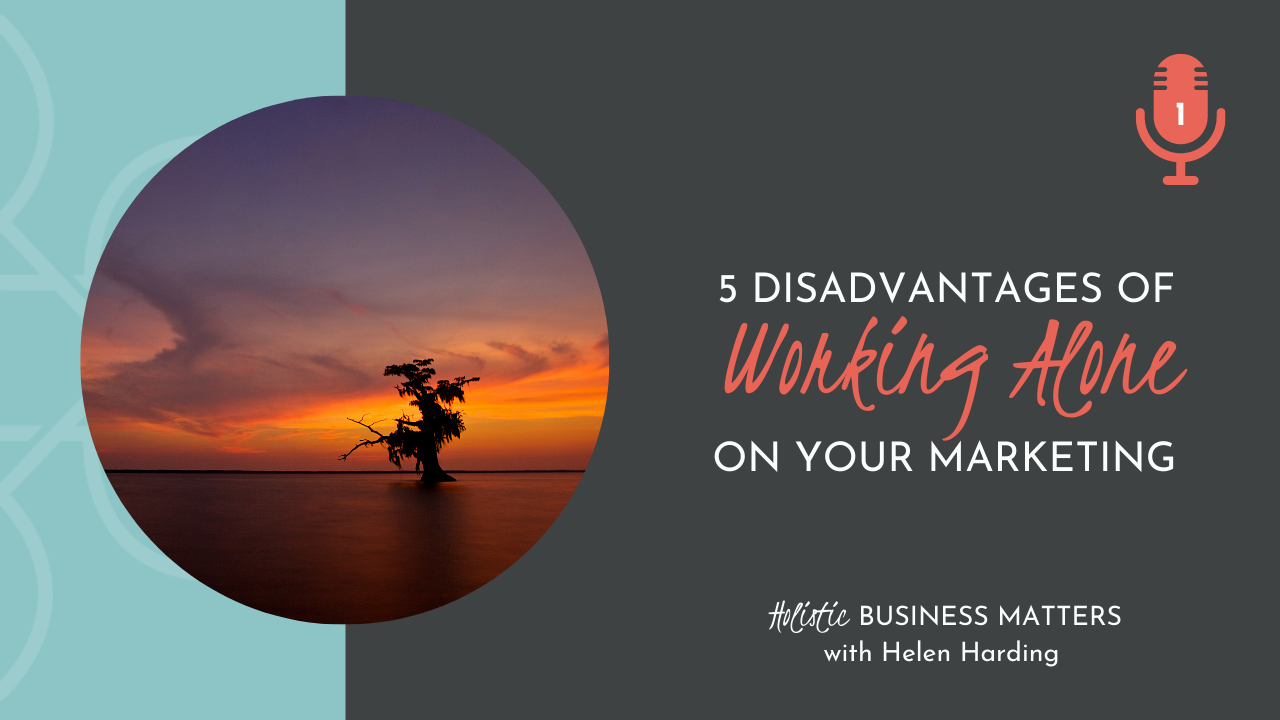 5 Disadvantages of Working Alone on Your Marketing