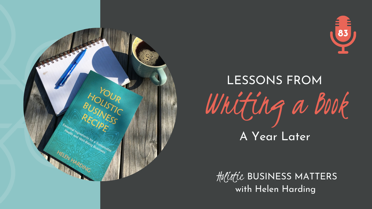 Lessons from Writing a Book: A Year Later