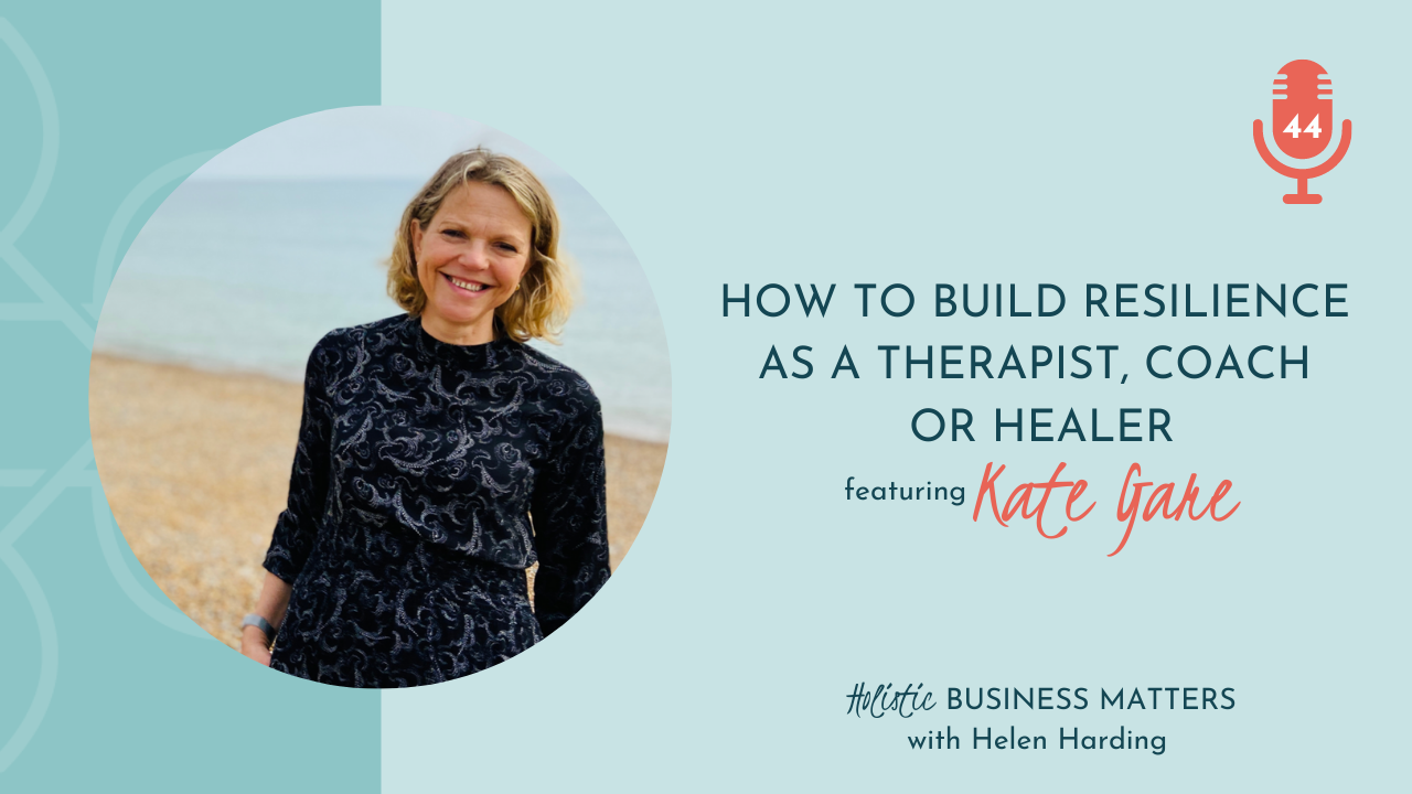 How to Build Resilience as a Therapist