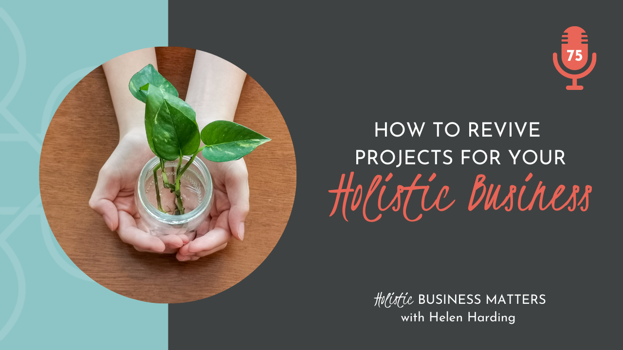 How to Revive Projects