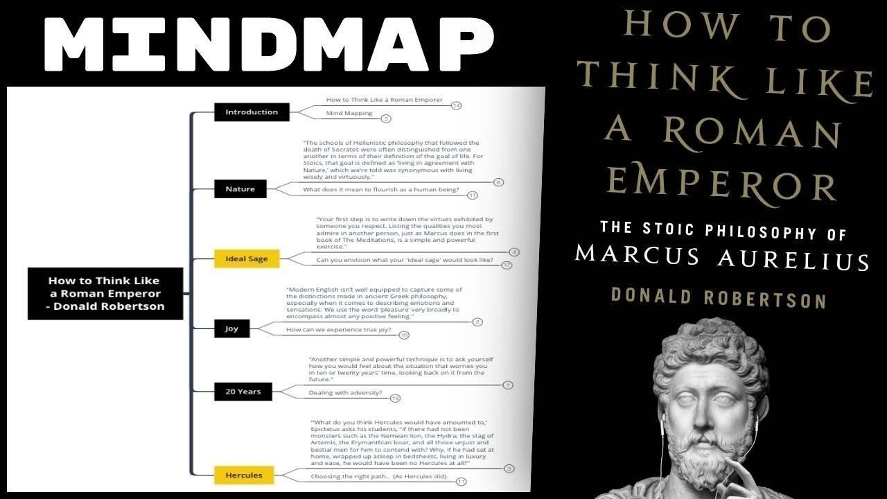 How to Think Like a Roman Emperor - Donald Robertson Summary