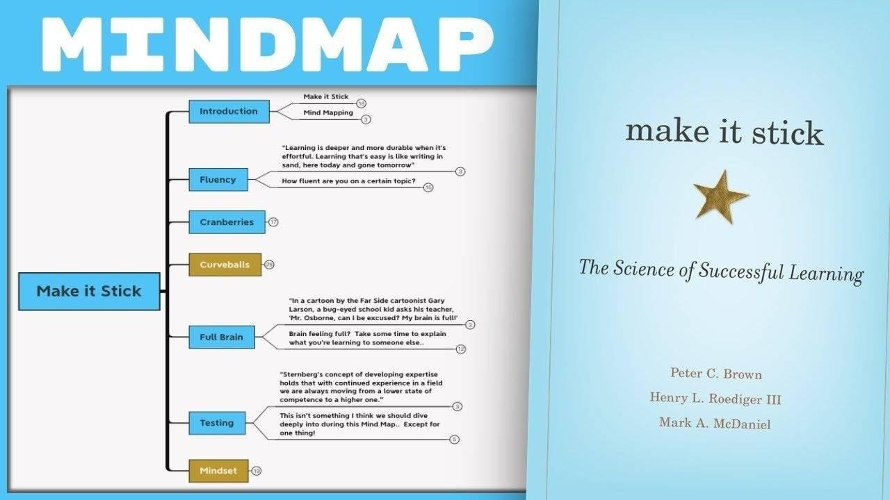 Make it Stick - P. Brown, M.McDaniel & H.Roediger III Summary