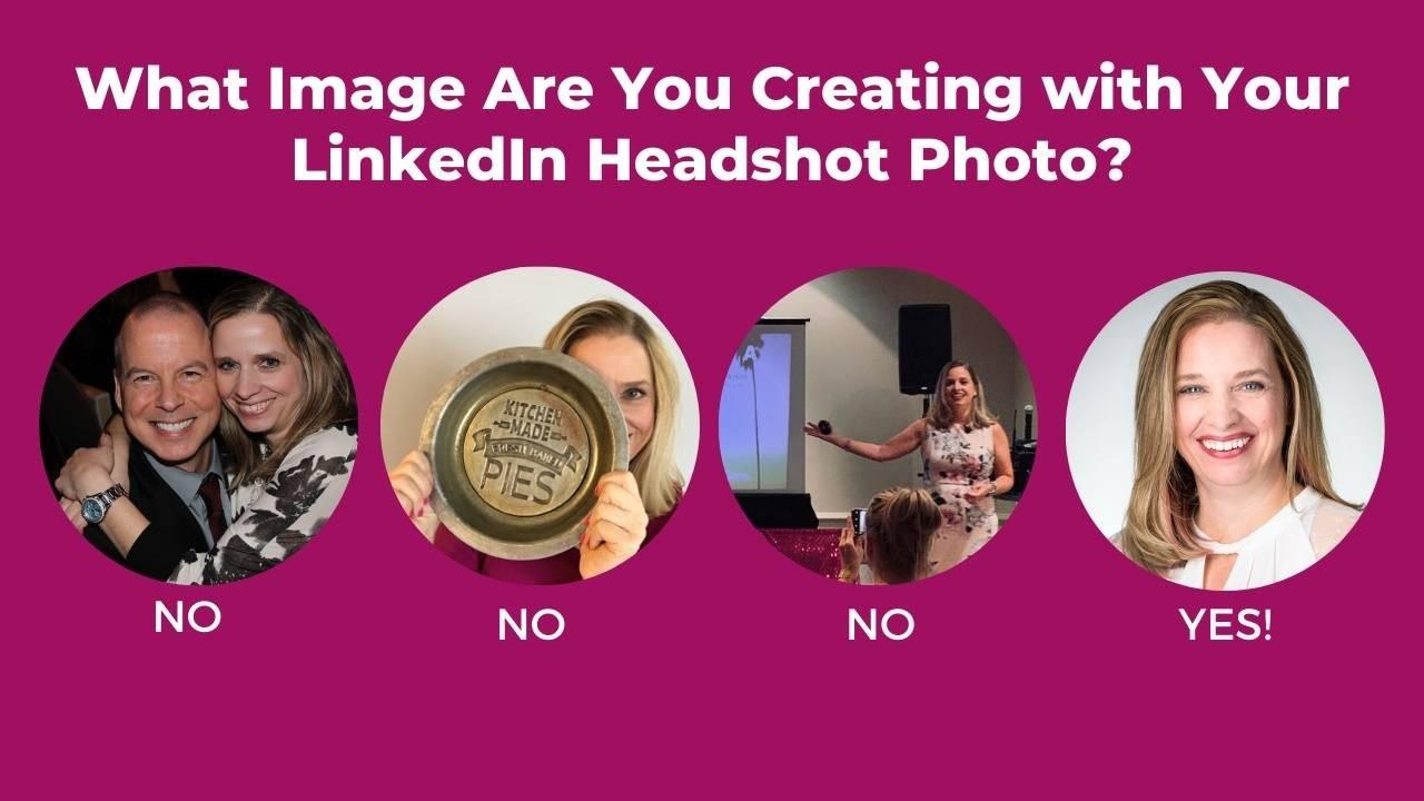 Your LinkedIn headshot photo