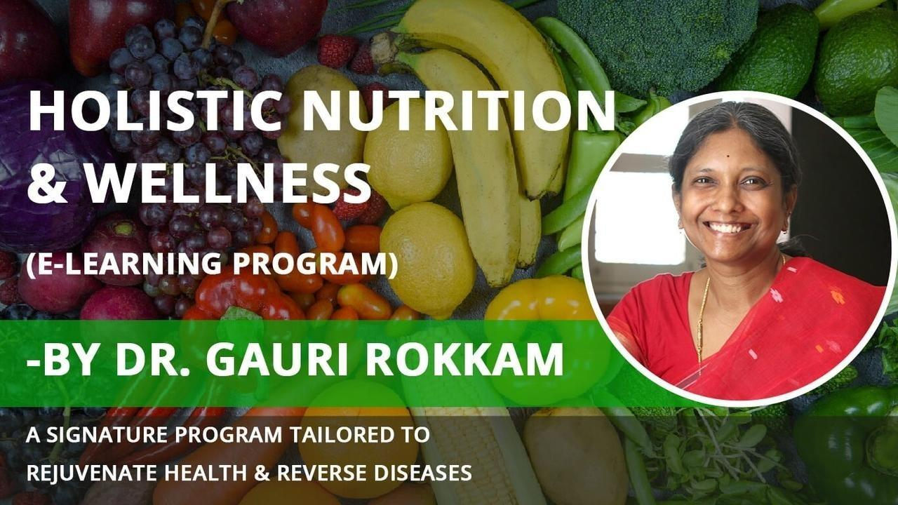 learn how food heals, the science of holistic nutrition and healing