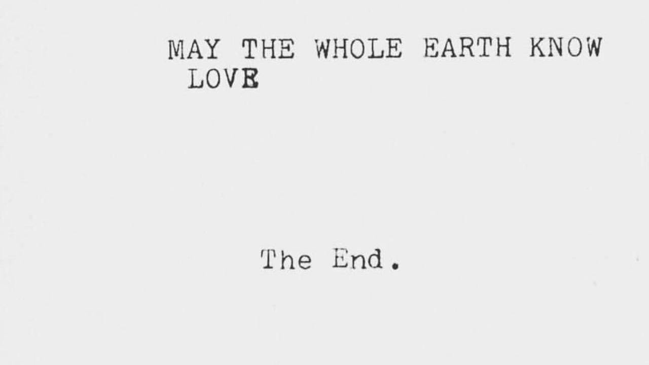 may the whole earth know love