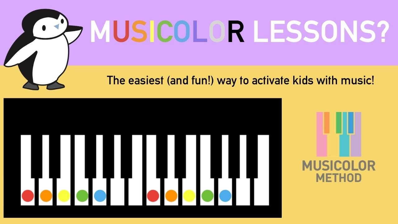 Musicolor lessons for kids