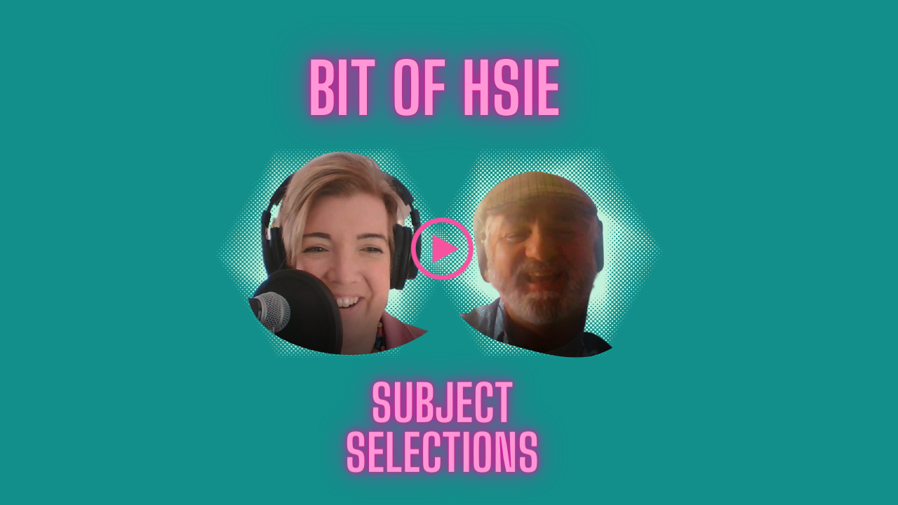 HSIE Subject Selection Image