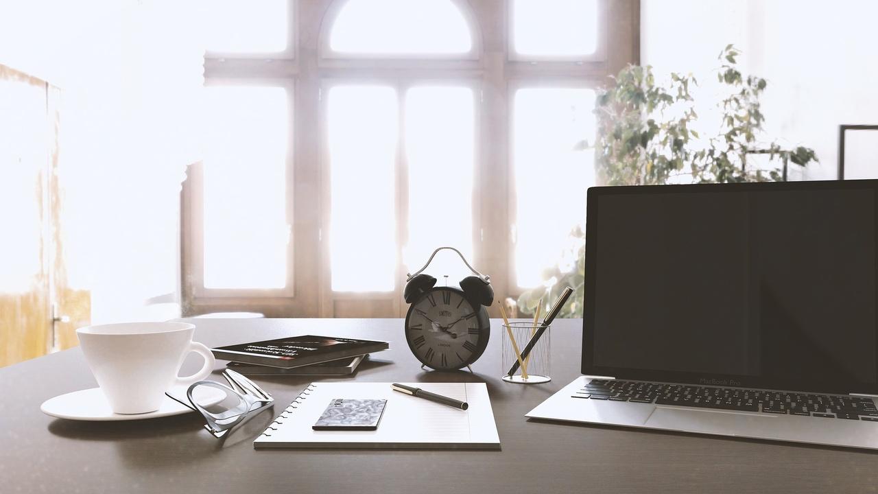 Clean desk for self improvement
