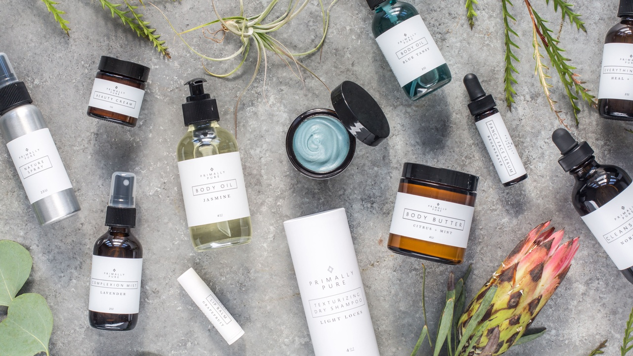 Primally Pure all-natural skincare products