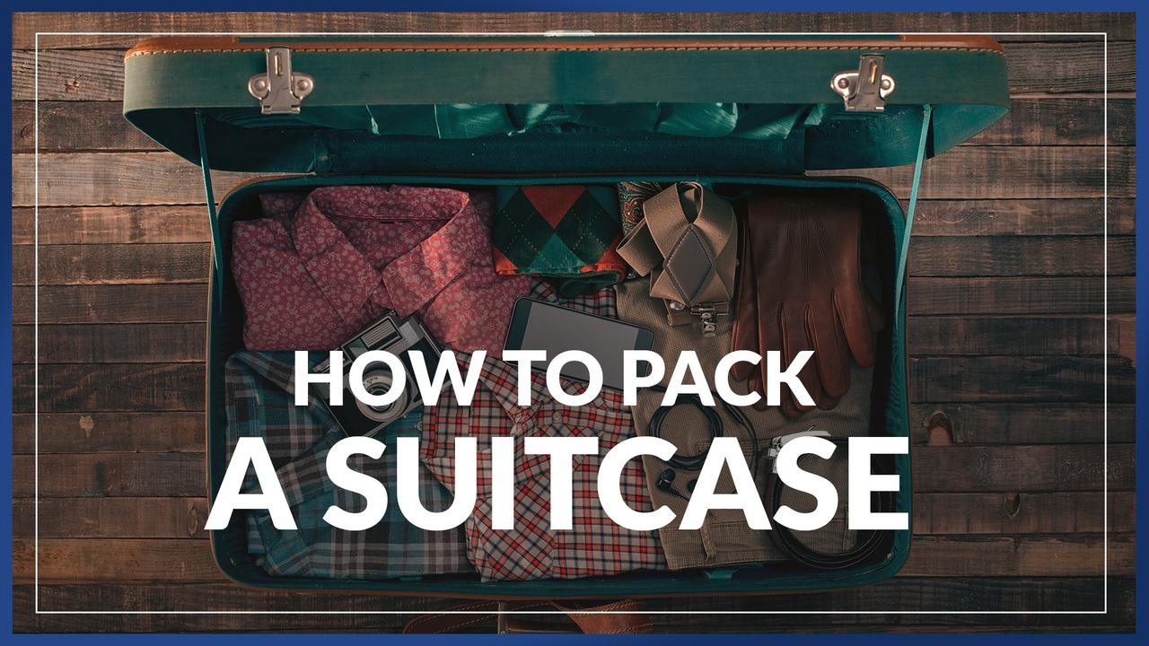 travel pro show how to pack a suitcase