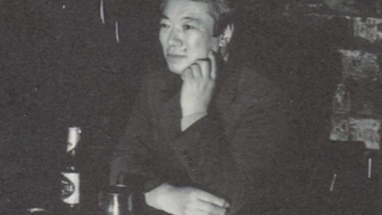 Tango singer Ikuo Abo