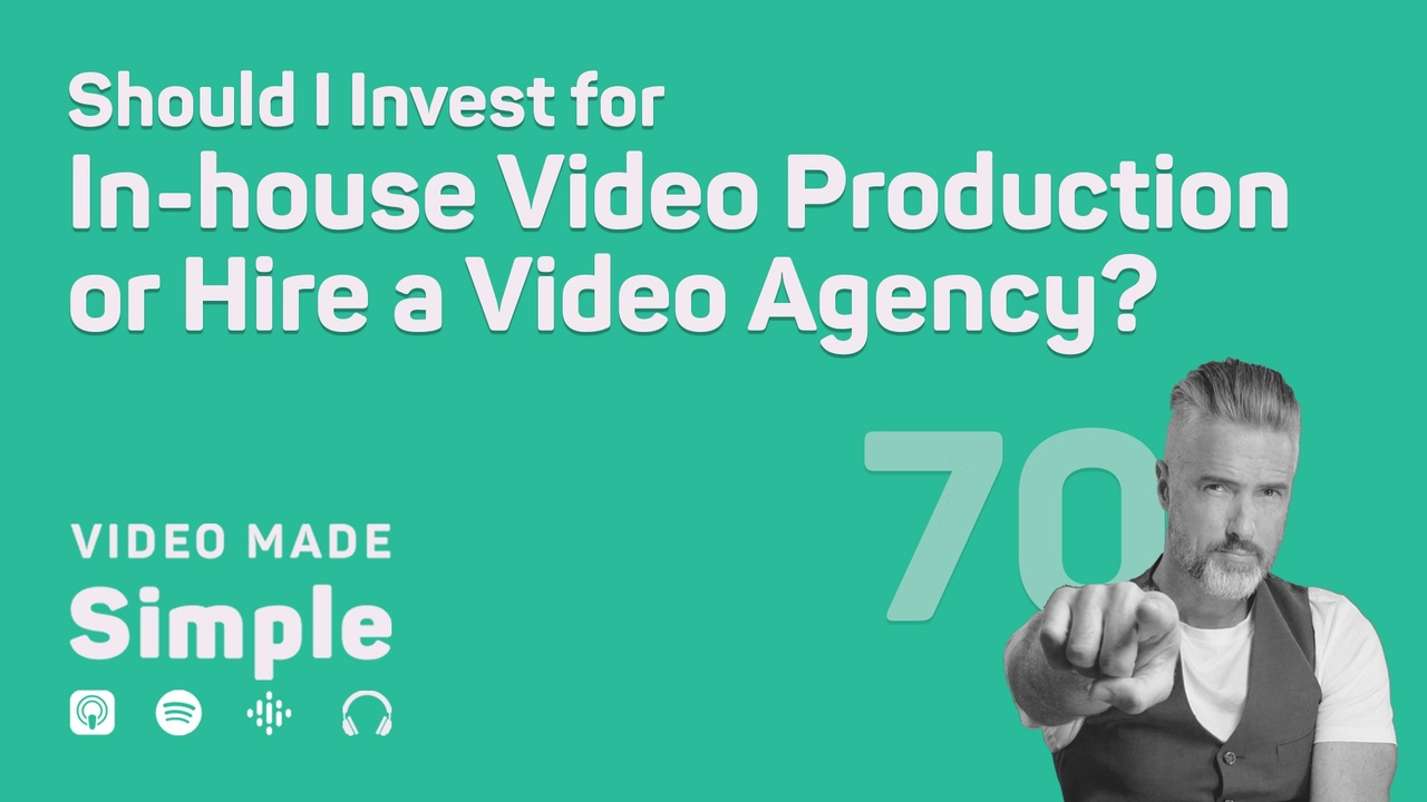 Should I Invest for In-house Video Production or Hire a Video Agency?