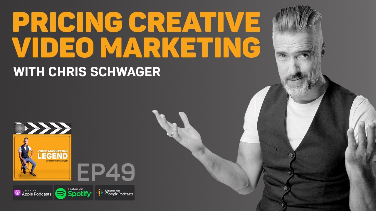 Pricing Creative Video Marketing with Chris Schwager (Episode 49): What do videos cost? It's the ultimate question very few video companies answer properly. In this podcast learn how Ridge Films price video marketing.