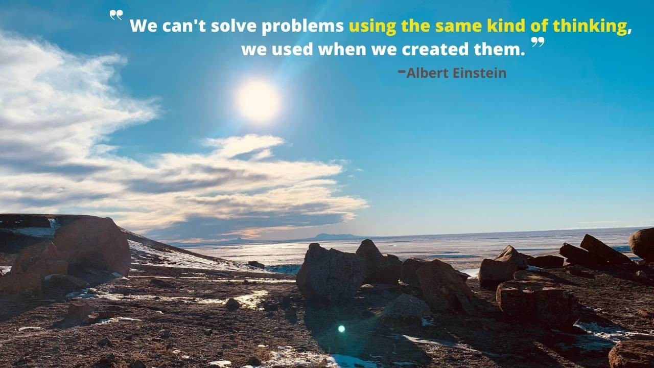 Horizon, Solving Problems, Seeing a solution,