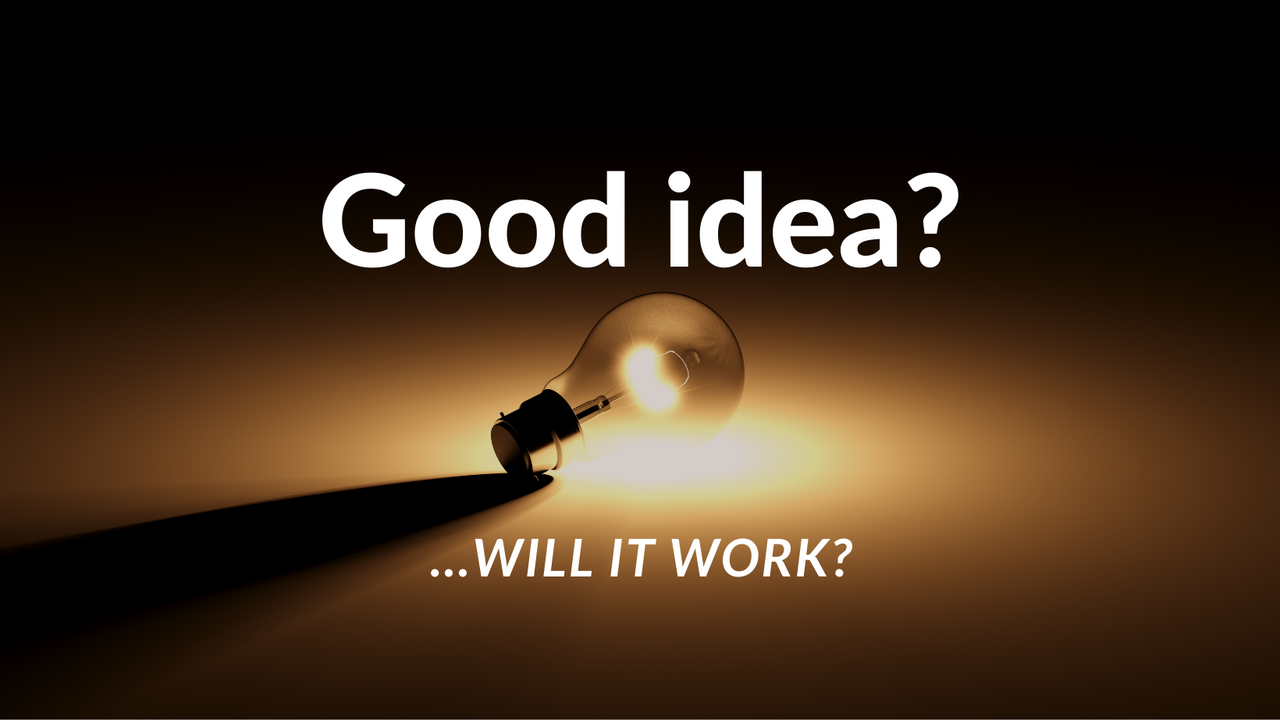 The Weekly with Fred Schebesta #8: Good idea? Will it work? 🤔