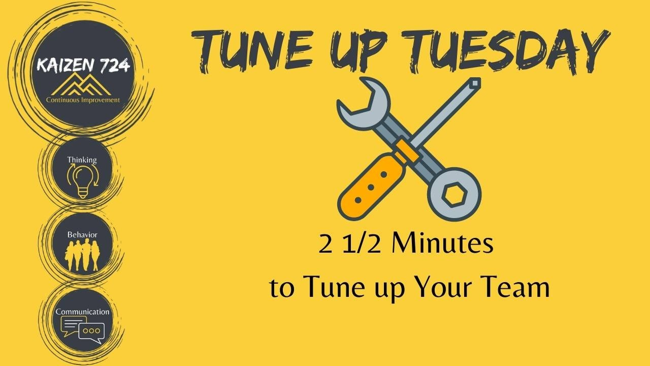 Tune up Tuesday