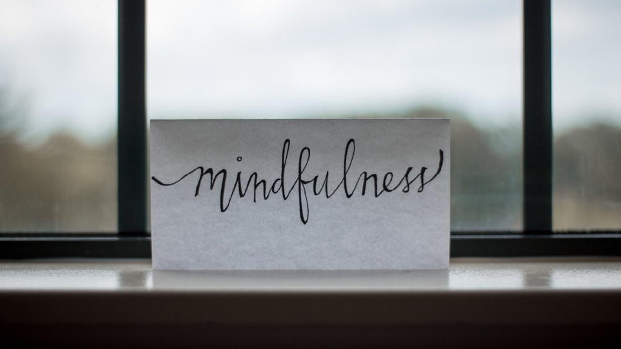 mindfulness on a card