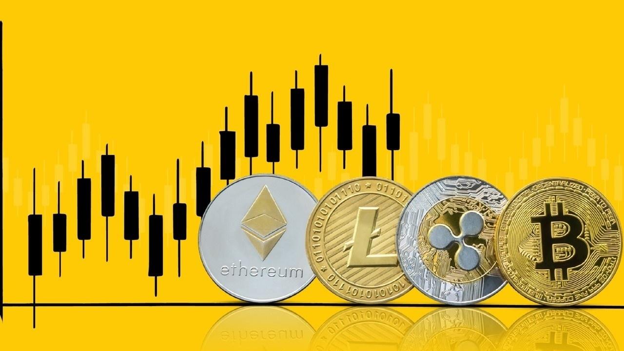 L'évolution des prix des cryptomonnaies au cours des 5 dernières années