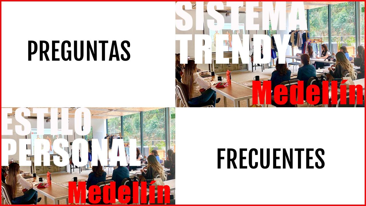 preguntas frecuentes de los cursos de Trendy Academy en Medellín