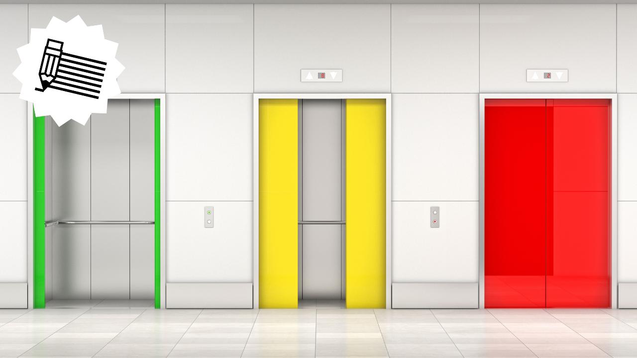 8 selfish reasons to send the elevator down.