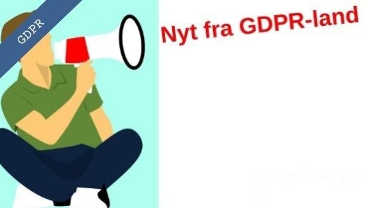 GDPR-nyheder