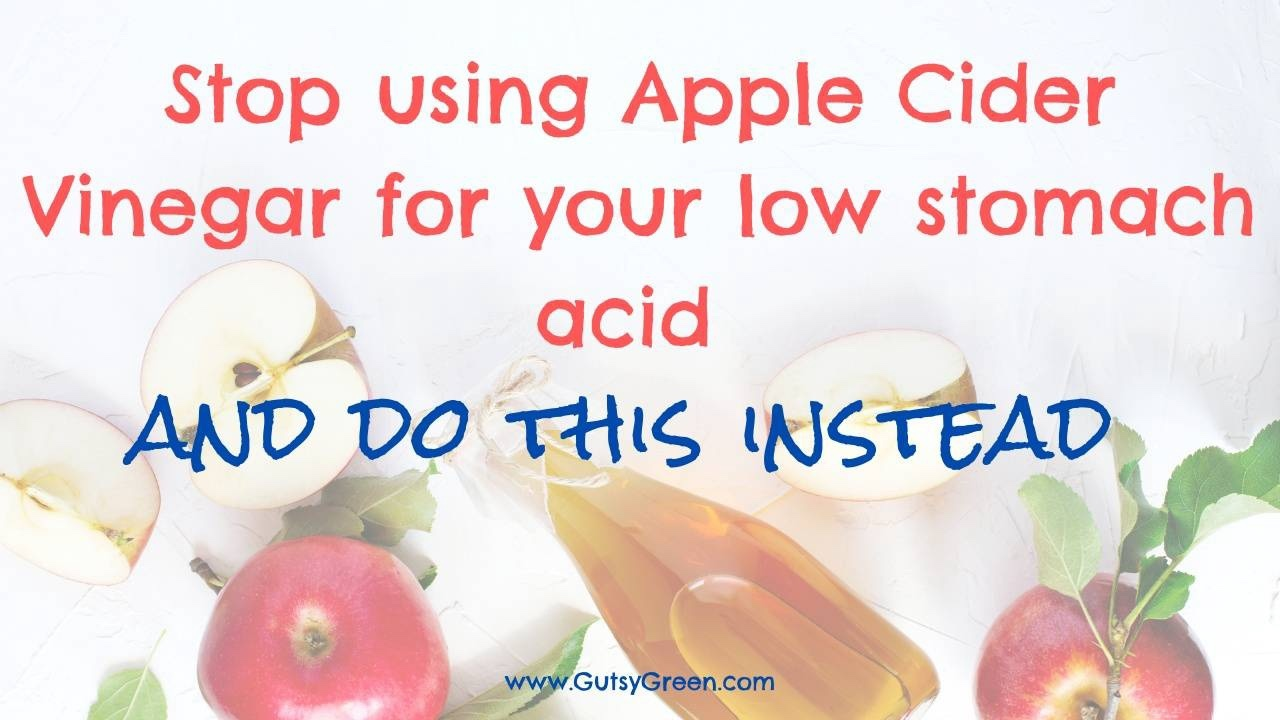 apple cider vinegar can be dangerous