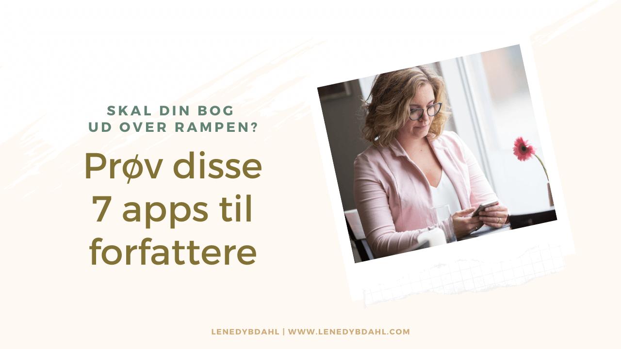 7 apps til forfattere