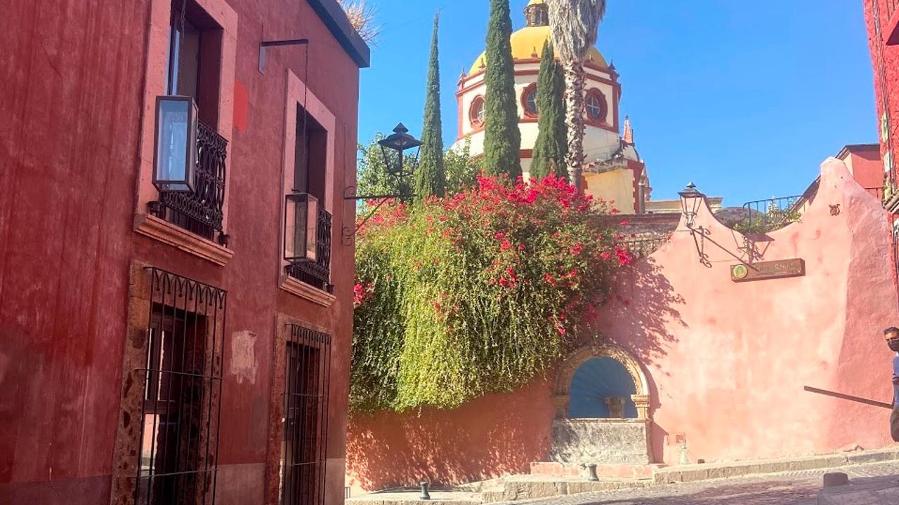 San Miguel de Allende travel to Mexico