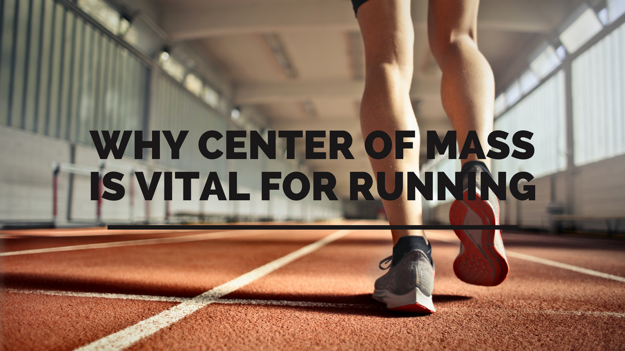 man about to run and control center of mass