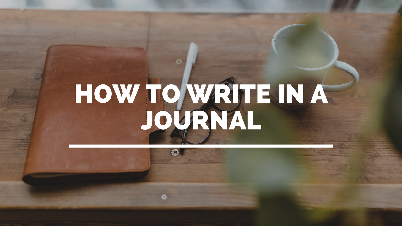 how to write in a journal