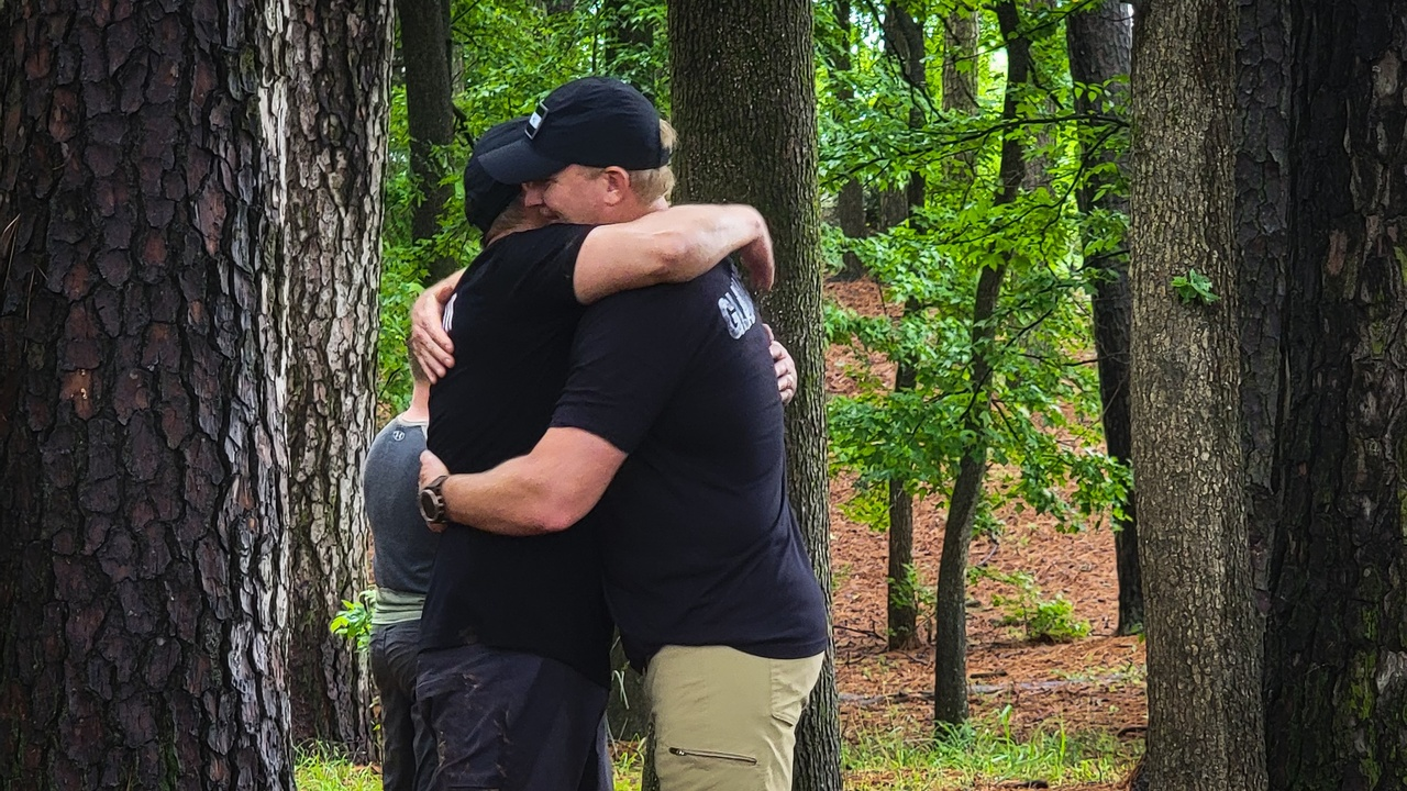 Dr. Tim and Billy share their gratitude for one another.