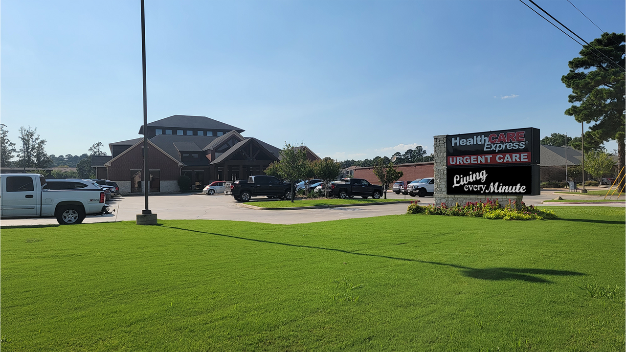 Healthcare Express located in Texarkana, TX. Dr. Tim and his team put a lot of work in this clinic, it wasn't born over night!