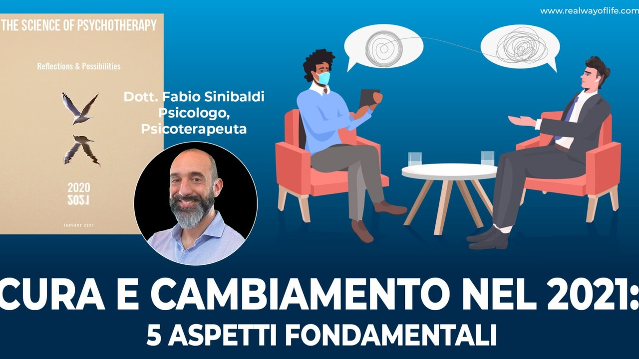 Copertina Science of Psychotherapy Sinibaldi