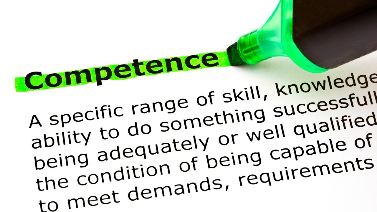 competence definition highlighted