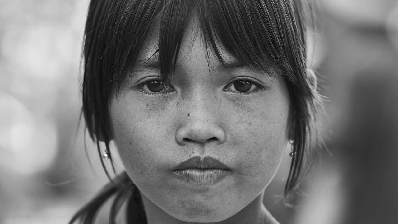 headshot photo of a girl