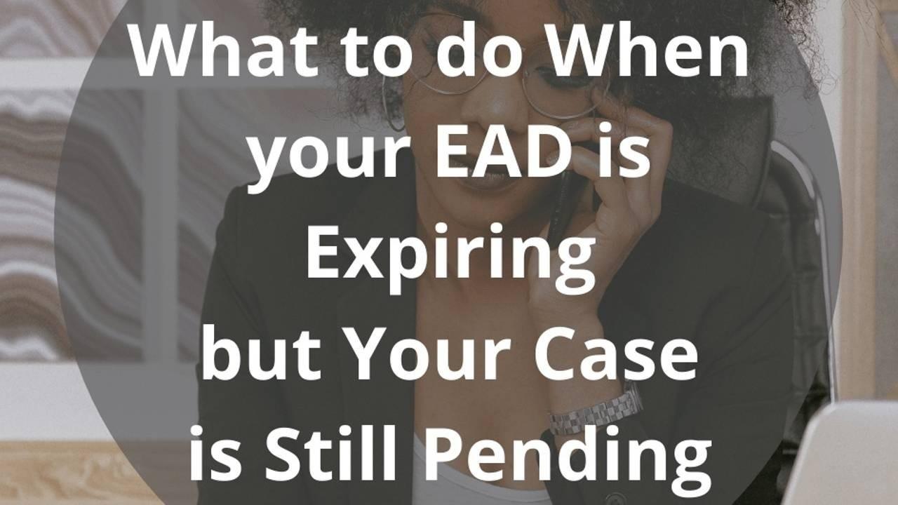 EAD expire