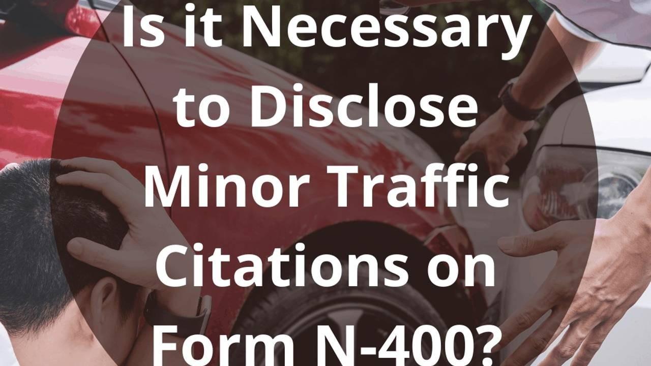 Traffic Tickets N400