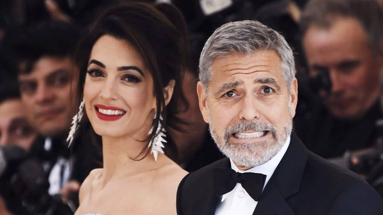 Passage Law_Amal and George Clooney