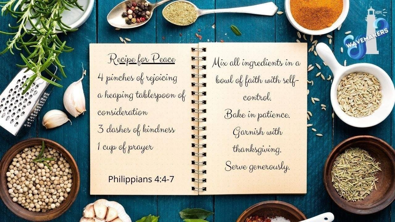 Recipe for Peace