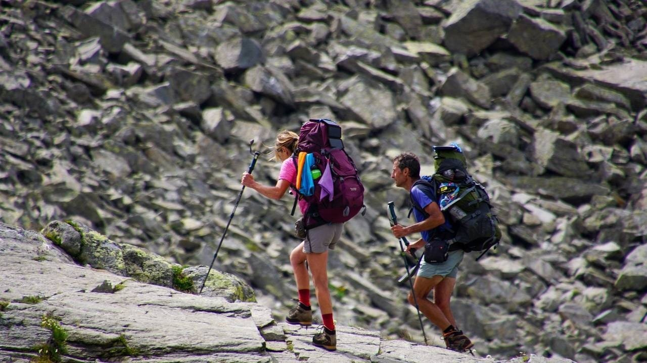 entrepreneur determination and focus is like being all in on a backpacking trip