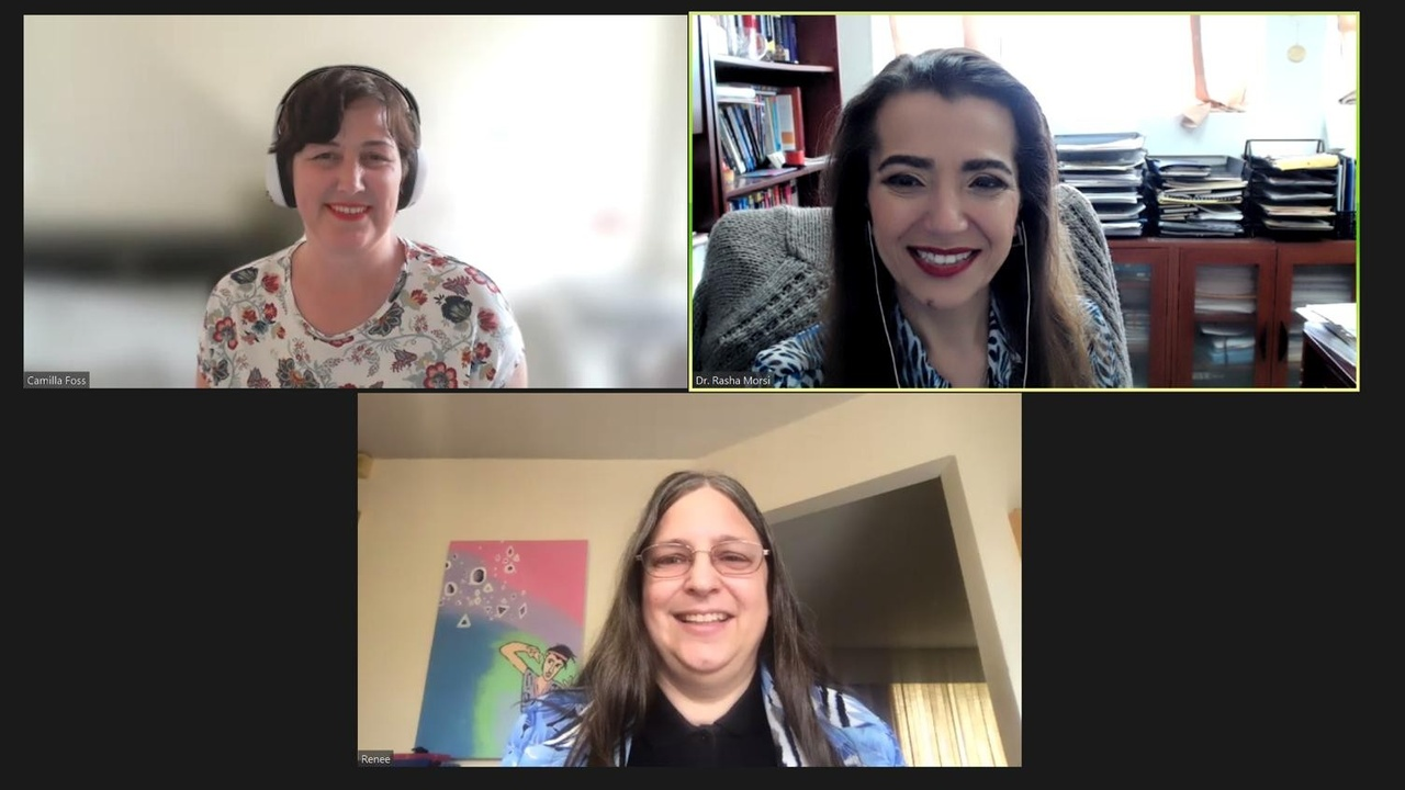 Virtual Meal on Zoom with Sententia Gamification Master Craftsmen June 2021 Cohort members