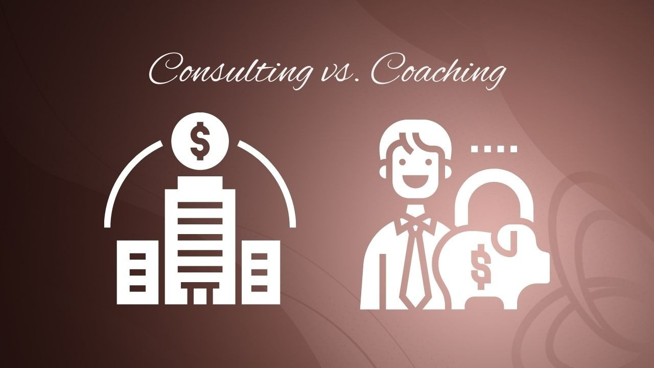 consulting vs. coaching