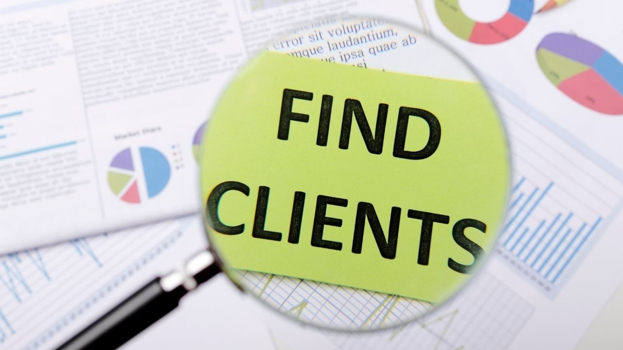 get consulting clients