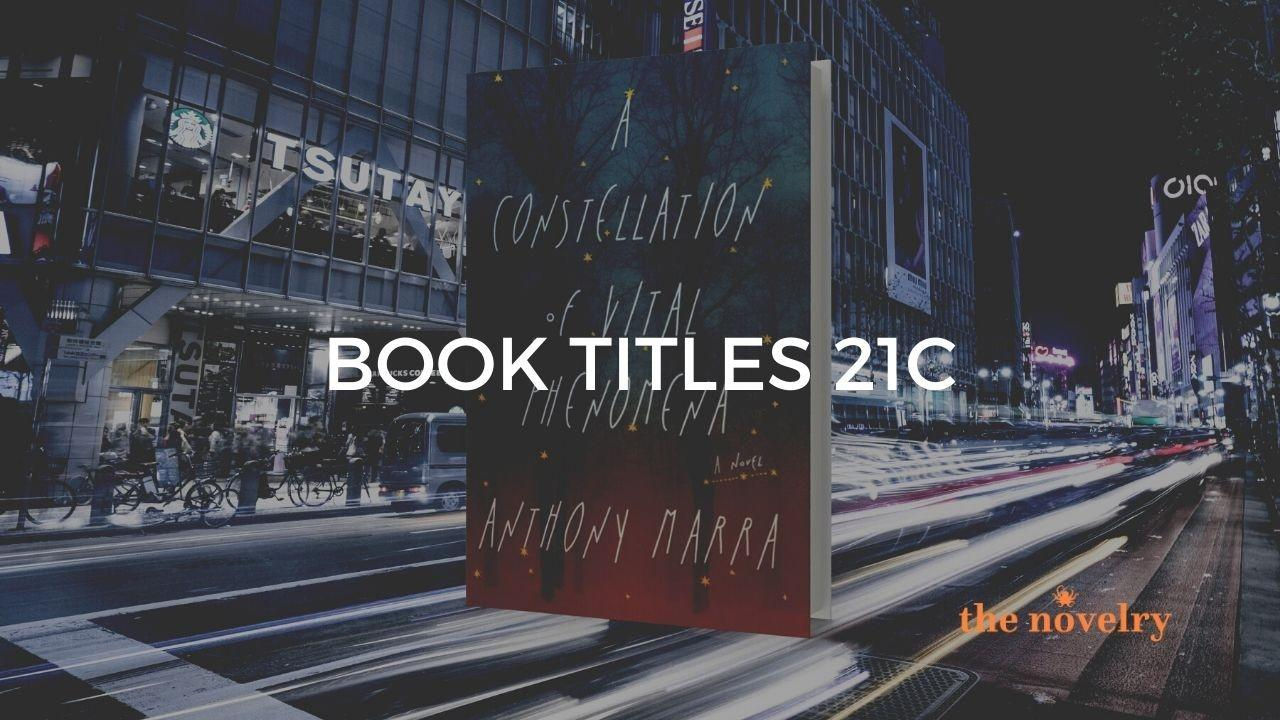 deciding a book title