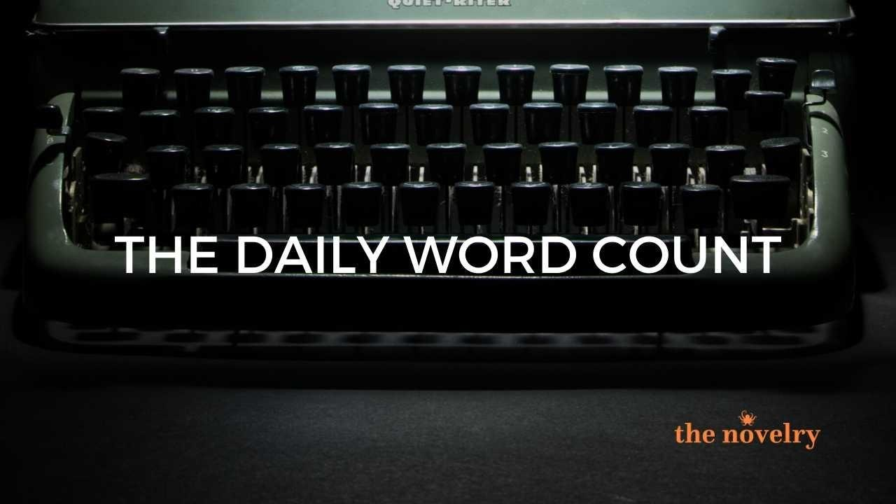 word counts of writers
