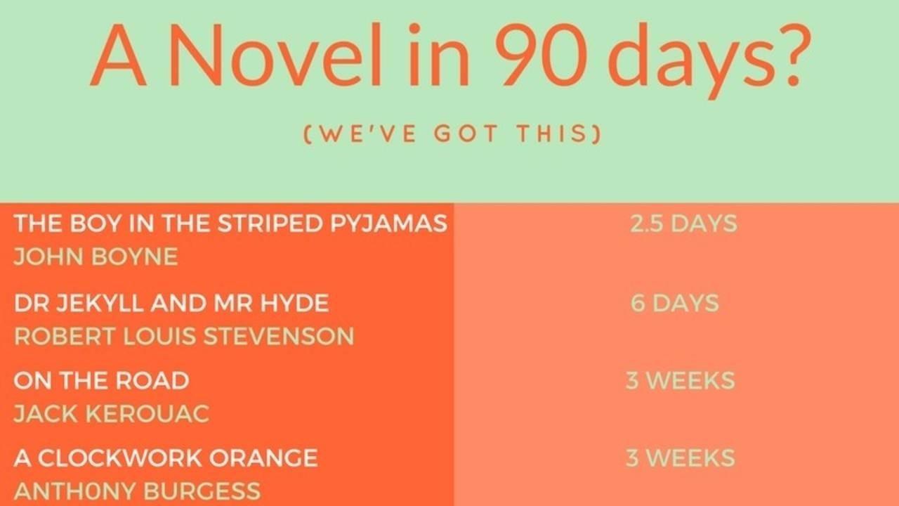 90 day novels